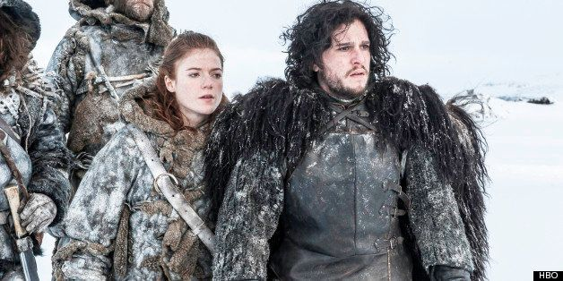 Behind Jon Snow And Ygritte S Game Of Thrones Steamy Cave Scene