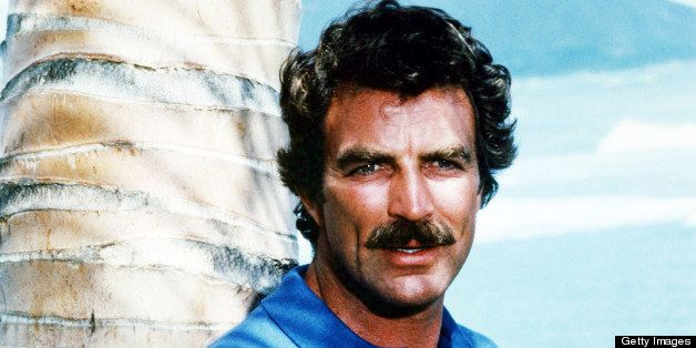 American actor Tom Selleck as he appears in the TV series 'Magnum P.I.', circa 1985. (Photo by Silver Screen Collection/Getty