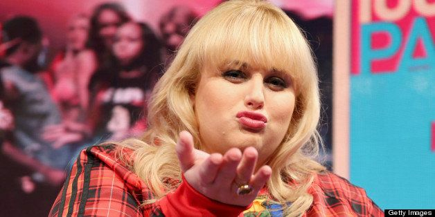 NEW YORK, NY - APRIL 29:  Actress/comedian Rebel Wilson visits BET's '106 & Park' at BET Studios on April 29, 2013, in New Yo