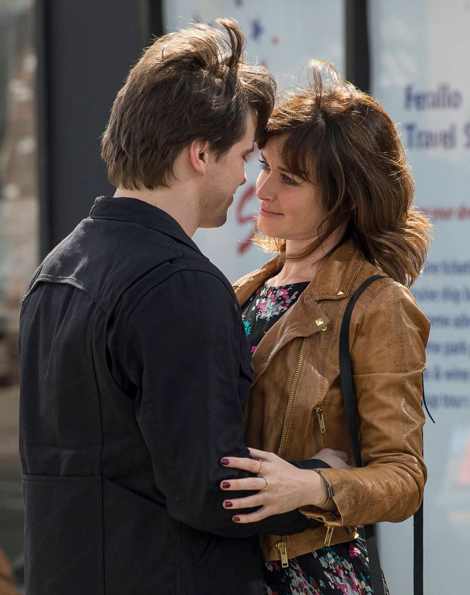 """Starring Jason Ritter (L) and Alexis Bledel (R), US & THEM is a single-camera ensemble comedy about a young couple, whose pa"