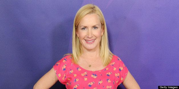 PASADENA, CA - APRIL 22:  Actress Angela Kinsey arrives at the 2013 NBC Summer Press Day at The Langham Huntington Hotel and