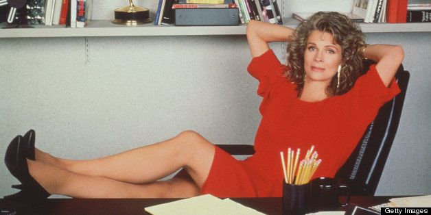 Candice Bergen as television journalist Murphy Brown from the CBS sitcom, California, 1990. (Photo by CBS Photo Archive/Getty