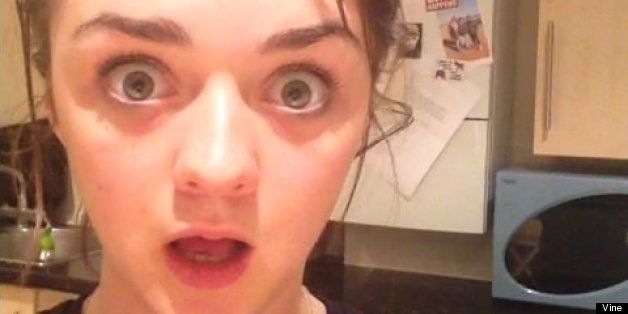 Red Wedding Reaction.Maisie Williams Reaction To The Red Wedding On Game Of Thrones Is