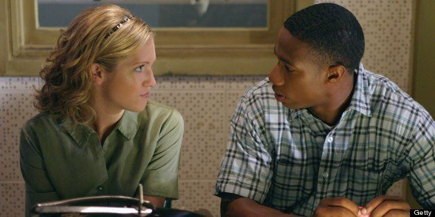 AMERICAN DREAMS -- 'High Hopes' Episode 24 -- Aired 5/11/03 -- Pictured: (l-r) Brittany Snow as Meg Pryor, Arlen Escarpeta as