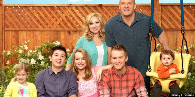 Good luck charlie listen to the theme song disney