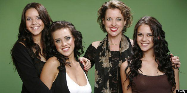 LOS ANGELES - JUNE 1:  Alexis Neiers, Tess Taylor, Andrea Arlington, and Gabrielle Neiers (L-R) of E!'s reality series Pretty