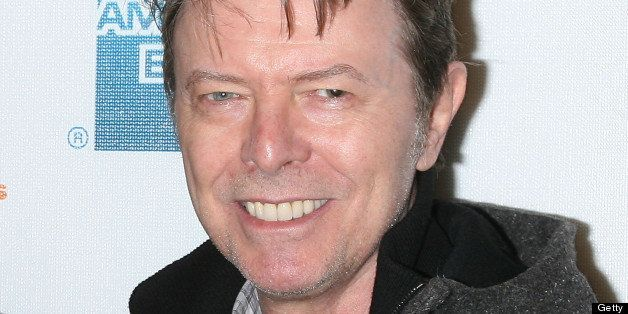 NEW YORK - APRIL 30:  Musician David Bowie attends the premiere of 'Moon' during the 8th Annual Tribeca Film Festival at BMCC