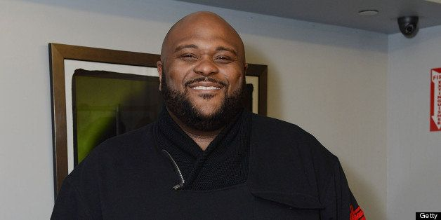 NEW YORK, NY - MARCH 06:  Singer Ruben Studdard backstage at Amateur Night at The Apollo Theater on March 6, 2013 in New York