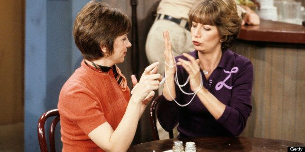 UNITED STATES - JULY 01:  LAVERNE & SHIRLEY - 'The Diner' 5/6/80 Cindy Williams, Penny Marshall  (Photo by ABC Photo Archives