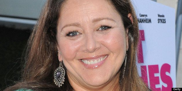 HOLLYWOOD, CA - JUNE 27:  Actress Camryn Manheim arrives at the premiere of 'The Hot Flashes' at ArcLight Cinemas on June 27,