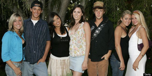 Kristin Cavallari, Stephen Colletti, Lauren Conrad and other castmembers of MTV's 'Laguna Beach: The Real Orange County' (Pho
