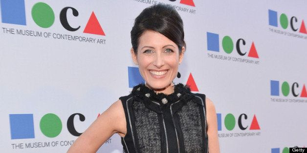 LOS ANGELES, CA - APRIL 20:  Actress Lisa Edelstein attends Yesssss! MOCA Gala 2013, Celebrating the Opening of the Exhibitio