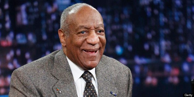 LATE NIGHT WITH JIMMY FALLON -- Episode 816 -- Pictured: Comedian/actor Bill Cosby on April 10, 2013 -- (Photo by: Lloyd Bish