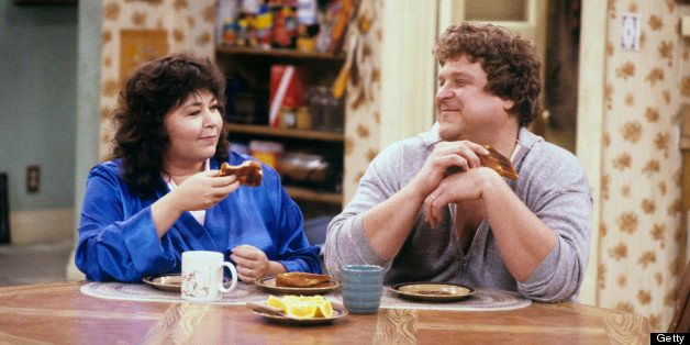 UNITED STATES - MARCH 04:  ROSEANNE- 'The Monday Thru Friday Show' 1/24/89 Roseanne Barr, John Goodman  (Photo by ABC Photo A