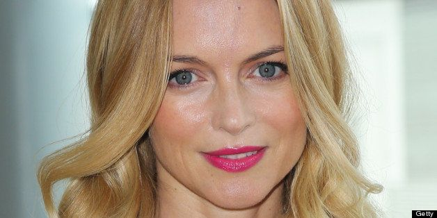 LOS ANGELES, CA - JUNE 23:  Actress Heather Graham attends the Echoes Of Hope's 3rd annual Luc Robitaille celebrity charity p