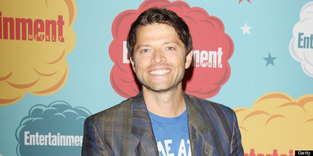 SAN DIEGO, CA - JULY 20:  Misha Collins arrives at the Entertainment Weekly's Annual Comic-Con celebration held at Float at H