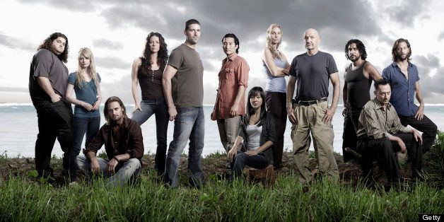 UNITED STATES - JANUARY 09:  LOST - 'Lost' stars Naveen Andrews as Sayid, Henry Ian Cusick as Desmond, Emilie de Ravin as Cla