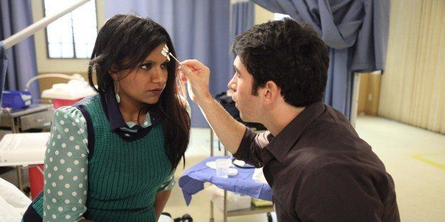 THE MINDY PROJECT: Mindy Kaling (L)  and Chris Messina star in the 'My Cool Christian Boyfriend' episode of THE MINDY PROJECT