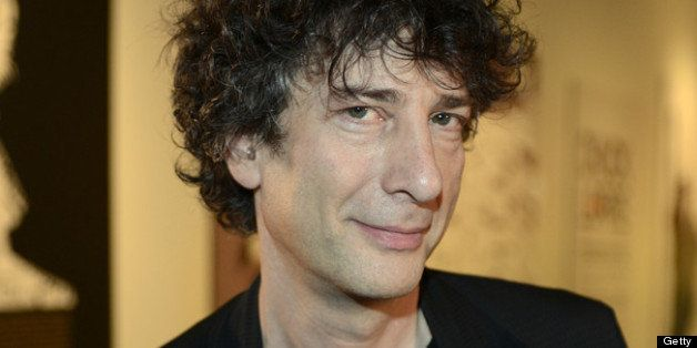AUSTIN, TX - MARCH 09: Neil Gaiman poses at the Warner Brothers TV 2013 SXSW party on March 9, 2013 in Austin, Texas. (Photo