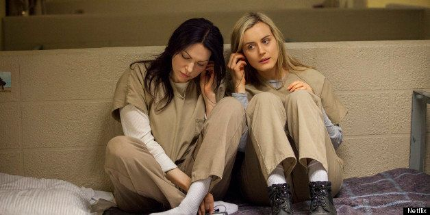 Lesbian moments in orange is the new black