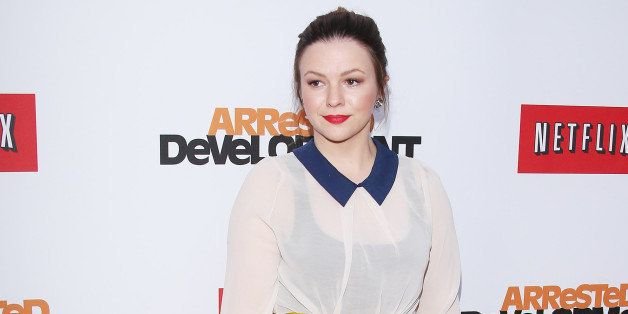 HOLLYWOOD, CA - APRIL 29:  Amber Tamblyn arrives at Netflix's Los Angeles premiere of 'Arrested Development' season 4 held at