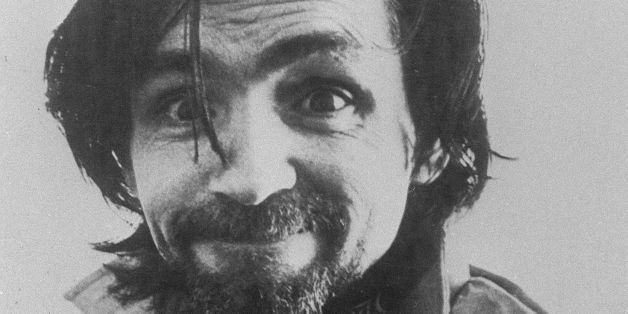 Photo dated 1978 of convicted mass murderer Charles Manson. Released from prison in 1967, he set up a commune based on free l