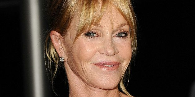 HOLLYWOOD, CA - AUGUST 14: Actress Melanie Griffith attends the premiere of 'Dark Tourist' at ArcLight Hollywood on August 14, 2013 in Hollywood, California. (Photo by Jason LaVeris/FilmMagic)