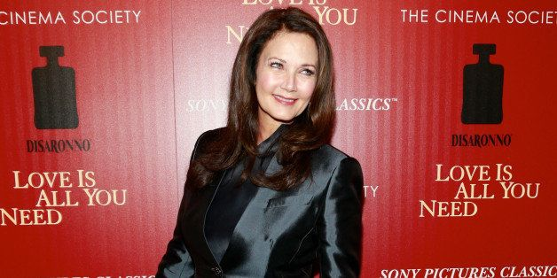 NEW YORK, NY - APRIL 24:  Singer Lynda Carter attends The Cinema Society & Disaronno screening of Sony Pictures Classics' 'Lo