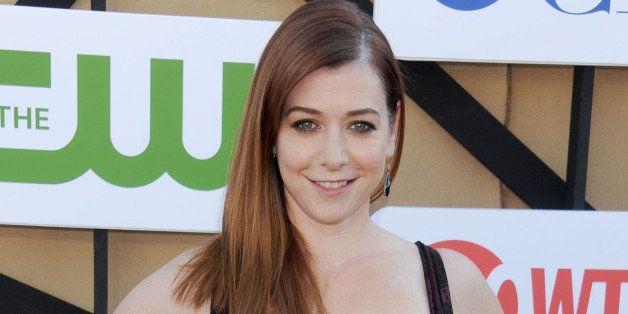 BEVERLY HILLS, CA - JULY 29: Actress Alyson Hannigan arrives at the CBS/CW/Showtime Television Critic Association's summer pr