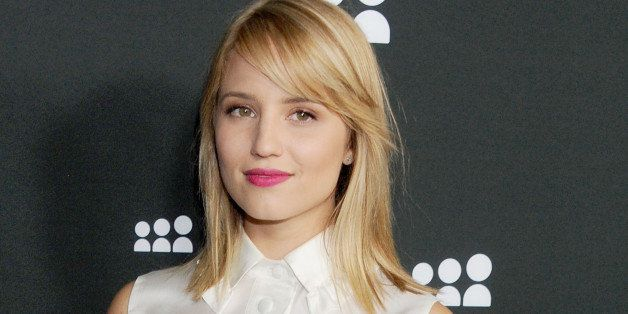 LOS ANGELES, CA - JUNE 12: Actress Dianna Agron arrives at the Myspace event at El Rey Theatre on June 12, 2013 in Los Angele