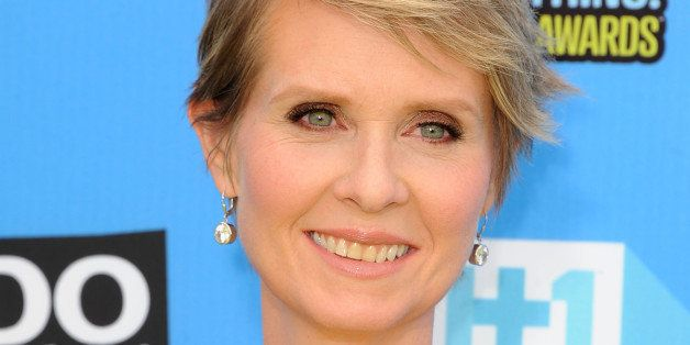 HOLLYWOOD, CA - JULY 31:  Cynthia Nixon arrives at the 2013 Do Something Awards at Avalon on July 31, 2013 in Hollywood, Cali