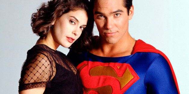 UNITED STATES - AUGUST 16:  LOIS & CLARK: THE NEW ADVENTURES OF SUPERMAN - Ad Gallery - 8/16/94, Teri Hatcher (Lois), Dean Ca