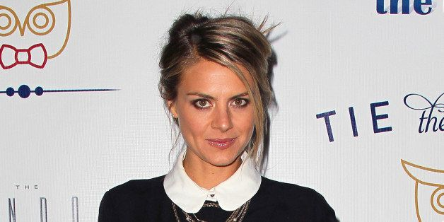 WEST HOLLYWOOD, CA - NOVEMBER 14:  Actress Eliza Coupe attends the launch of Tie The Knot hosted by Jesse Tyler Ferguson and