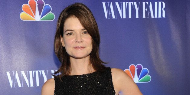 NBCUNIVERSAL EVENTS -- 'NBC & Vanity Fair Toast the 2013 Launch' -- Pictured: Betsy Brandt 'The Michael J. Fox Show' arrives