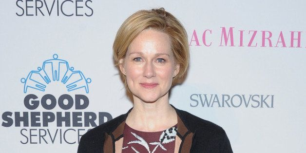 NEW YORK, NY - APRIL 25:  Actress Laura Linney attends Good Shepherd Services Spring Party hosted by Isaac Mizrahi at DIA 545