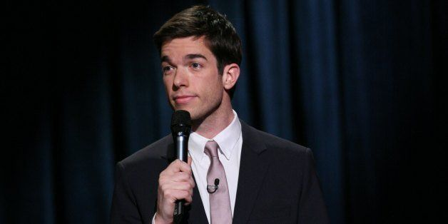LATE NIGHT WITH JIMMY FALLON -- Episode 571 -- Pictured: Comedian John Mulaney performs on January 13, 2012 -- Photo by: Lloy