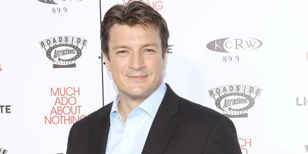 HOLLYWOOD, CA - JUNE 05:  Nathan Fillion arrives at the Los Angeles screening of 'Much Ado About Nothing' held at Oscars Outd