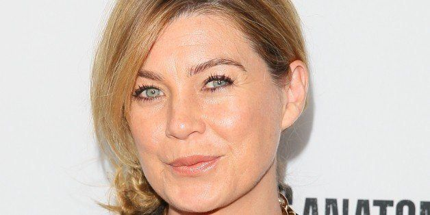 LOS ANGELES, CA - SEPTEMBER 28: Ellen Pompeo attends 'Grey's Anatomy' 200th Episode party held  at The Colony on September 28