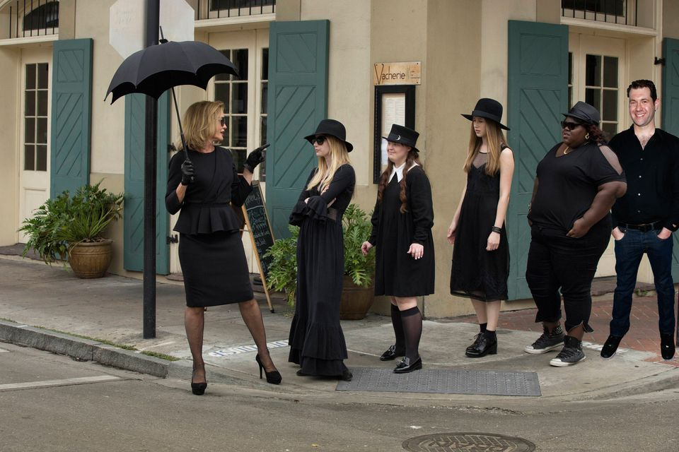 """The witchy ladies of """"Coven"""" need some sassy masculine energy to snap them out of their own spells when things get too maudli"""