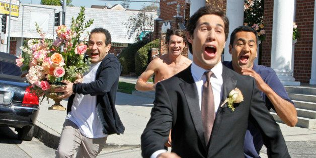 LOS ANGELES - FEBRUARY 26: 'Pilot' -- CBS's new single camera comedy WE ARE MEN is about four single guys living in a short-t