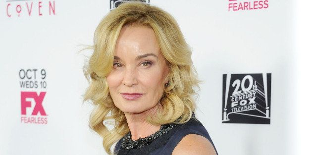 WEST HOLLYWOOD, CA - OCTOBER 05:  Actress Jessica Lange arrives at the Los Angeles premiere of FX's 'American Horror Story: C