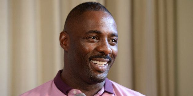 LONDON, ENGLAND - JULY 05:  (UK TABLOID NEWSPAPERS OUT) Actor Idris Elba appears during a Webchat to promote his film 'Pacifi