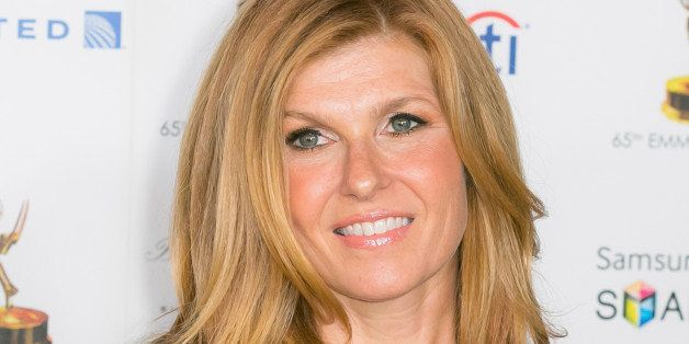 WEST HOLLYWOOD, CA - SEPTEMBER 20:  Actress Connie Britton arrives at the Academy of Television Arts & Sciences' 65th Primeti