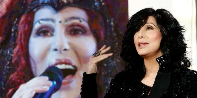 TODAY -- Pictured: Cher appears on NBC News' 'Today' show -- (Photo by: Peter Kramer/NBC/NBC NewsWire via Getty Images)