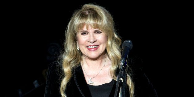 BIRMINGHAM, ENGLAND - SEPTEMBER 29: Stevie Nicks of Fleetwood Mac performs on stage at LG Arena on September 29, 2013 in Birm