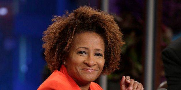 THE TONIGHT SHOW WITH JAY LENO -- Episode 4553 -- (EXCLUSIVE COVERAGE) -- Pictured: Comedian Wanda Sykes during a commerical