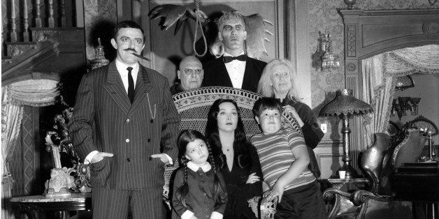 UNITED STATES - SEPTEMBER 18:  THE ADDAMS FAMILY - Pilot - Season One - 9/18/64, 'The Addams Family' was based on the charact