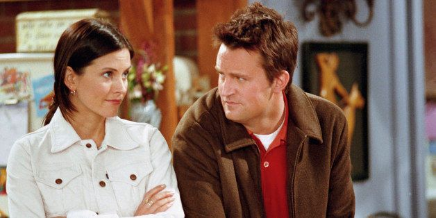 FRIENDS -- 'The One with the Truth About London' Episode 16 -- Aired 2/22/2001 -- Pictured: (l-r) Courteney Cox as Monica Gel