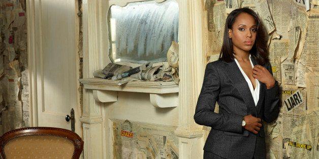 SCANDAL - ABC's 'Scandal' stars Kerry Washington as Olivia Pope. (Photo by Craig Sjodin/ABC via Getty Images)