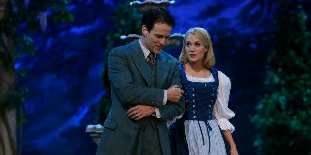 THE SOUND OF MUSIC LIVE! -- Pictured: (l-r) Stephen Moyer as Captain Von Trapp, Carrie Underwood as Maria -- (Photo by: Will